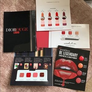 Lipstick Samples Dior YSL CPB Lot of 5